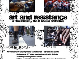 Art and Resistance Film Series Debut @ PSU
